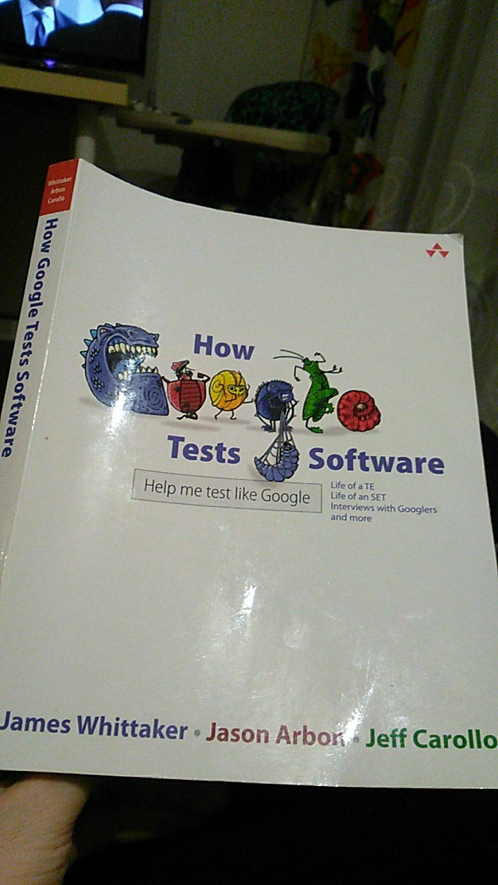 "Книга ""How Google tests software"""